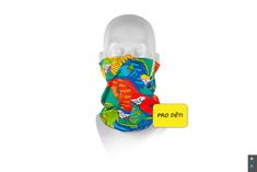 Respilon Nákrčník R-shield Light dětský Parrot s protivirovou Nano membránou