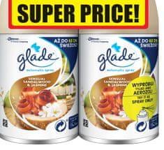 Glade Automatic Spray Sandalwood & Jasmine DUO utántöltő (2 x 269 ml)