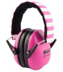 ALPINE Hearing Muffy - dětská izolační sluchátka RŮŽOVÁ