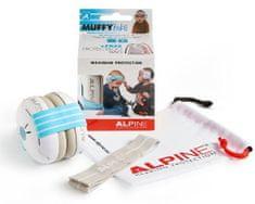 ALPINE Hearing Muffy Baby - dětská izolační sluchátka MODRÁ
