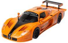 BBurago model 1:24 Plus Maserati MC12 pomarańczowy