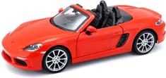 BBurago 1:24 Plus Porsche 718 Boxster, narančasti