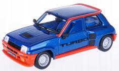 BBurago model 1:24 Plus Renault 5 Turbo niebieski