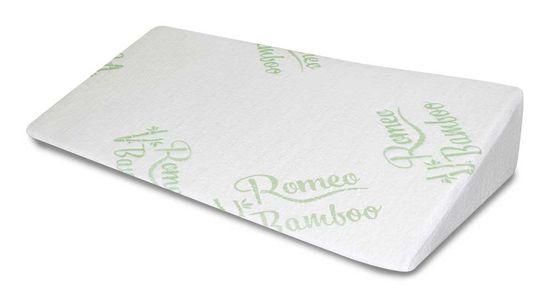 Romeo Klínový podhlavník MEMORY BAMBOO 80 x 40 x 15 cm, samostatně