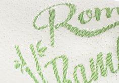 Romeo Náhradní povlak BAMBOO na polštář neprofilovaný Memory Bamboo, samostatně
