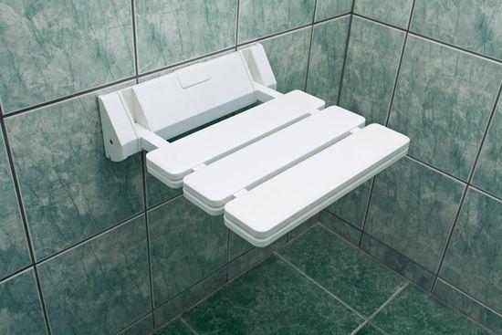 HomeLife Sedátko do sprchy 32 x 32 cm, samostatně
