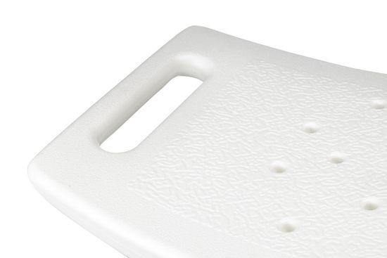 HomeLife Koupelnové sedátko výškově stavitelné, samostatně