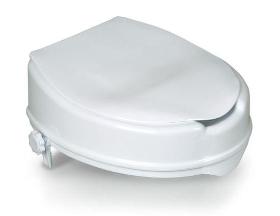 HomeLife Zvýšené sedátko na WC s poklopem BT430, samostatně