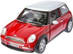 BBurago model 1:18 Mini Cooper 2001 czerwony