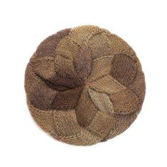 Art of Polo Módní pletený baret, hnědý