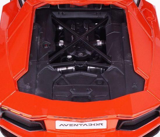BBurago model Plus Lamborghini Aventador LP700-4, 1:18, narančasti
