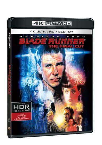 Blade Runner: The Final Cut (2 disky) - Blu-ray + 4K Ultra HD