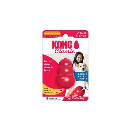 KONG Classic igrača za pse, XL, rdeča