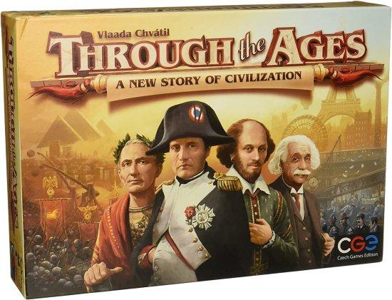 CGE družabna igra Through the Ages - A New Story of Civilization angleška izdaja