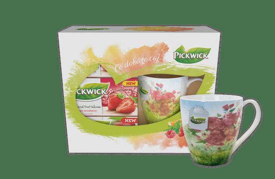 Pickwick Darčekové balenie ovocných čajov s hrnčekom JARO