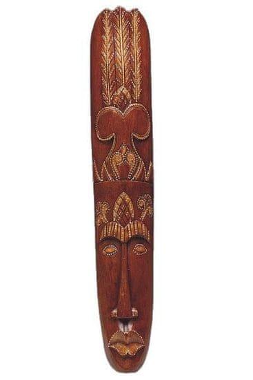 Kraftika Dřevěná maska 98 cm