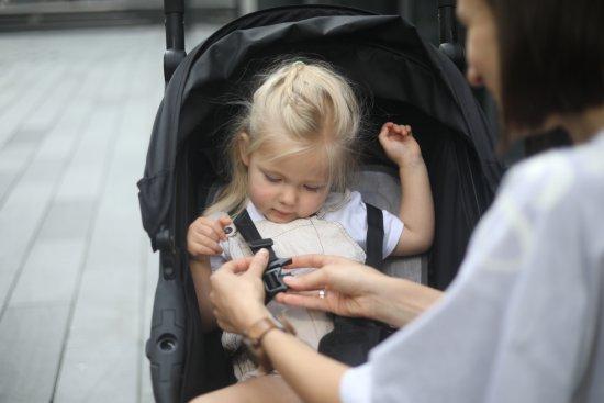 BébéFolie Hladilna blazinica za voziček Heather Grey