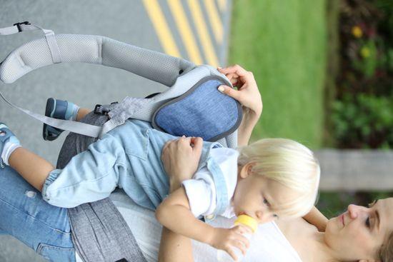 BébéFolie Hladilna blazinica za dojenčko Heather Grey