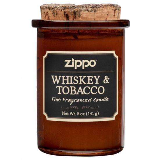 Zippo dišeča sveča, Whiskey & Tobacco