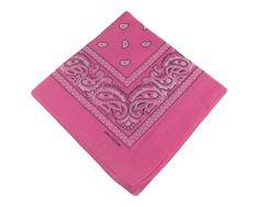 ORSI Šátek 53x53 bandana růžový