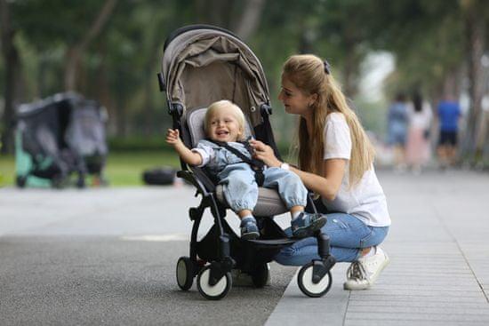BébéFolie Hladilna blazinica za kompaktni voziček Heather Grey