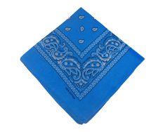 ORSI Šátek 53x53 bandana světle modrý