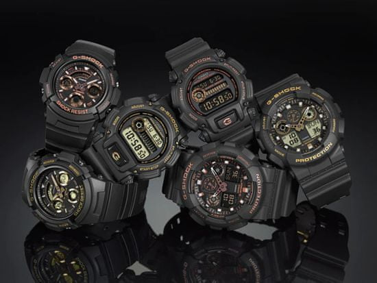 CASIO The G/G-Shock GA 100GBX-1A9