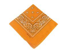 ORSI Šátek 53x53 bandana oranžový