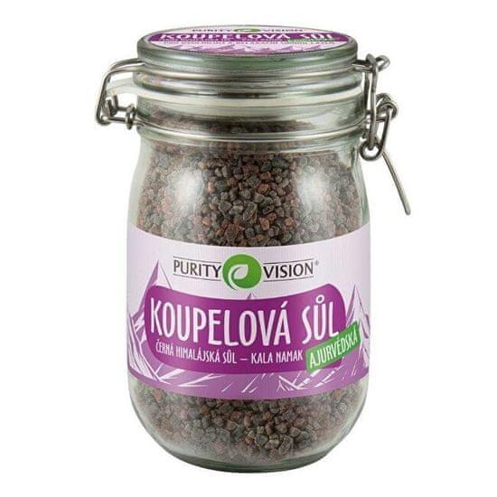 Purity Vision Ajurvedska sol za kopel (Černá himalájská sůl – Kala Namak)