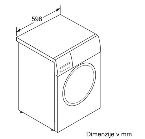 Bosch WAN28160BY perilica rublja , s prednjim punjenjem