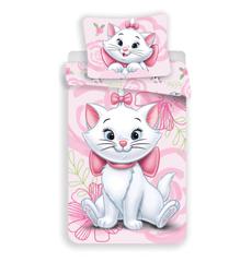 Jerry Fabrics posteljnina Marie Cat Pink 02