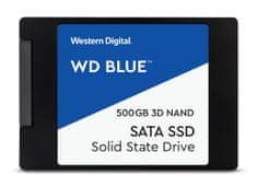 "Western Digital SSD disk SATA 3 500 GB BLUE 3D NAND 6,35 (2,5"") (WDS500G2B0A)"