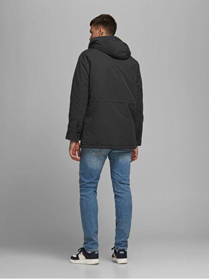 Jack&Jones Moška jakna JJEWETLAND 12173668 Black