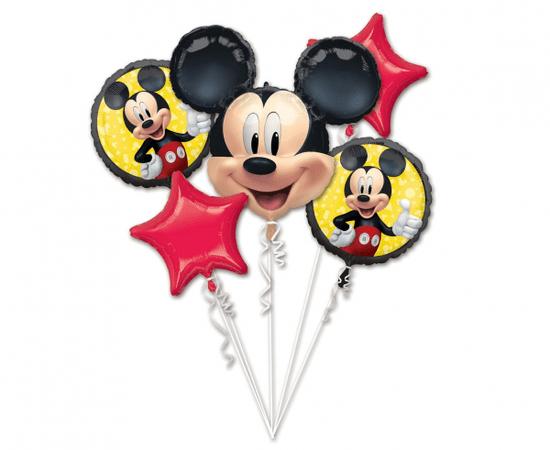 "Amscan Balónová kytice - ""Mickey mouse"" 5ks"