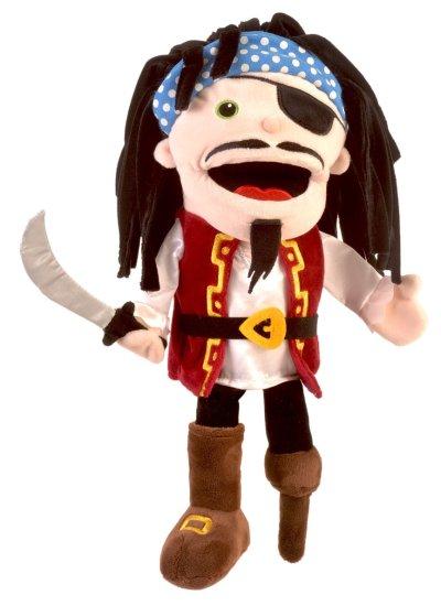 Fiesta Crafts Duża kukiełka z otwieranymi ustami - Pirat