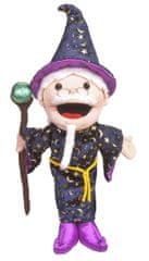 Fiesta Crafts Čarovnik velika lutka z odprtimi usti