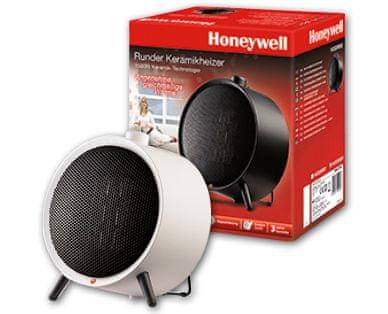 Honeywell okrogli keramični grelnik, bel