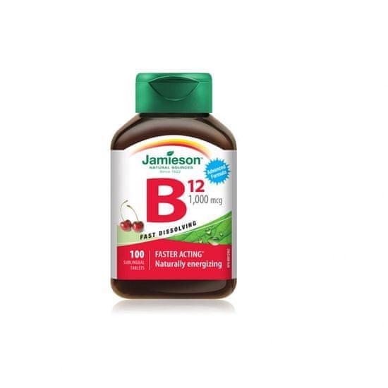 Jamieson Vitamin B12 1000 podjezične tablete, 100 tablet (799777)