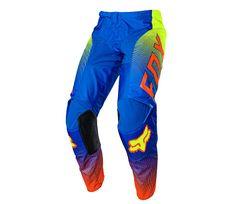 Fox dětské kalhoty Yth 180 Oktiv blue vel. 26