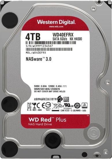 "Western Digital WD Red (EFRX), 3,5"" - 4TB WD40EFRX"