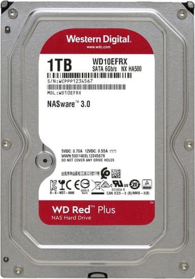 "Western Digital WD Red (EFRX), 3,5"" - 1TB WD10EFRX"