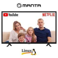 Manta 32LHS89T DLED HD televizor, Smart TV, Wi-Fi