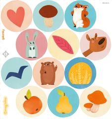 GEKONKY Veselé puntíky - lesní zvířátka