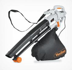 VonHaus 3-v-1 električni puhalnik, sesalnik listja in mulčer, 35 l (2500105)
