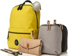 PacaPod ROCKHAM žltý - prebaľovací batoh