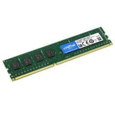 Crucial pomnilnik (RAM), 4 GB DDR3L, 1600 MHz, PC3-12800, CL11 (CT51264BD160BJ)
