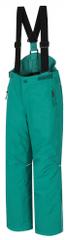 Hannah dětské lyžařské kalhoty AKITA JR II 128 zelená