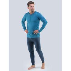 Gino Pánské pyžamo petrolejové (79087) - velikost XXL