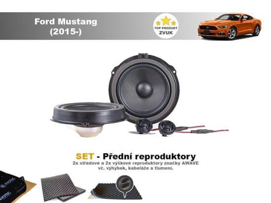 Awave SET - přední reproduktory do Ford Mustang (2015-) - Awave AWF650C