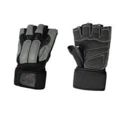 Spartan Guard fitnes rokavice, črno-sive, XL
